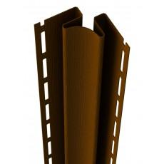 Внутренний угол Ю-Пласт, коричневый, длина 3,05м (1 уп=5шт.)