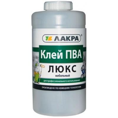 ЛАКРА Люкс Клей ПВА мебельный 0,9 кг
