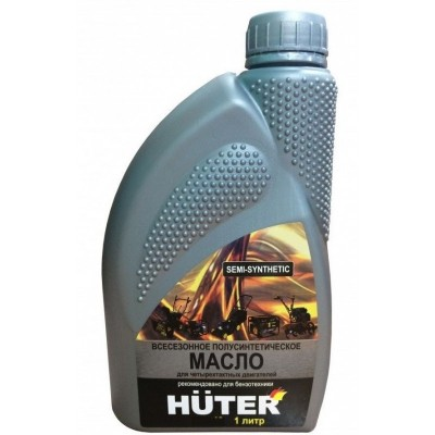 Масло 4-х тактное Huter полусинтетика 1л