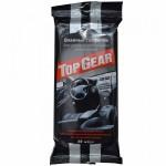 """Салфетки влажные """"Top Gear"""" (30шт, для ухода за интерьером автомобиля)"""
