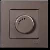 Выключатель-диммер без рамки антрацит 01403500-160126