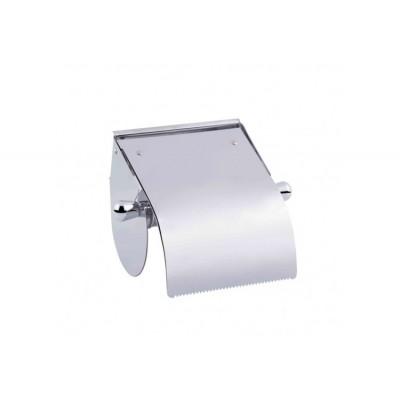 Настенный держатель для туалетной бумаги с крышкой P301