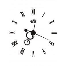 """Часы настенные """"Механика"""" черные"""