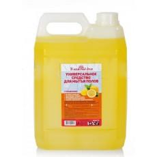 Концентрированное средство для мытья полов В каждый дом  универсальное дезинфицирующие 5Л