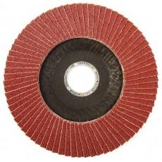 Круг MosTek лепестковый торцевой КЛТ1 125х22 мм Р40