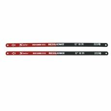 Полотна для ножовки по металлу ,300 мм,18 TPI,упругое,2 шт //MATRIX 77774