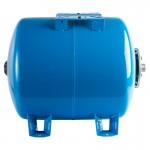 Гидроаккумулятор STOUT 50л горизонтальный (цвет синий)