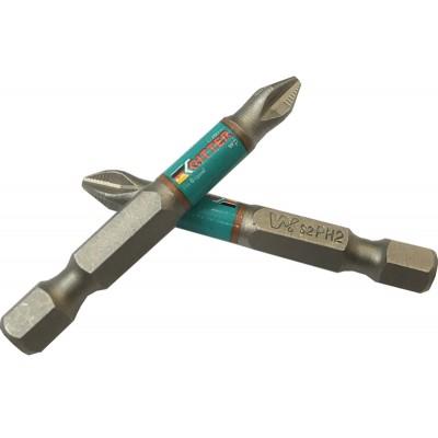 Бита Ritter WP PH 2x70 мм магнитная (сталь S2) (2 шт)