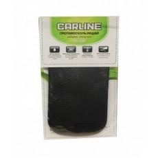 Коврик на панель антискользящий Carline 145*85мм, черный