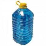 Жидкость стеклоомывающая синяя