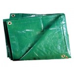 Тенты из полиэтилена ткани зеленый ТЗ-120 3м*4м