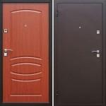 Дверь металлическая Стройгост 7 Итальянский орех 960х2050 левая