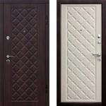 Дверь металлическая Ромбы Люкс_3К 960*2050 правая