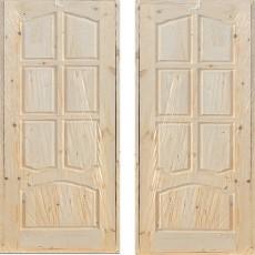 Дверной блок филенчатый ДФГ-900 арочный