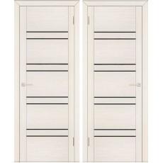 Дверь экошпон Анкона 8 ПО-800 кремовая лиственница