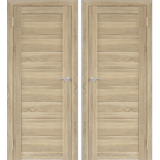 Дверь экошпон Бона 00 Дуб Сонома ПГ-600