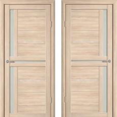 Дверное полотно экошпон Катрин 3 Соренто Капучино ПО-900