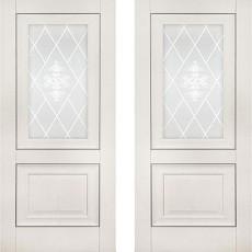 Дверное полотно экошпон Катрин-62 Айвори ПО-800