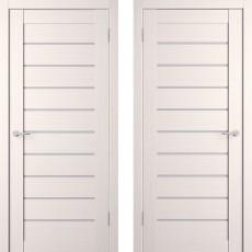 Дверное полотно экошпон Анкона 9 Кремовая лиственница ПО-800