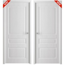 Дверь 3D покрытие Каскад белый ясень, утяжеленная ДГ-800