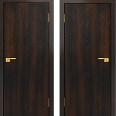 Дверное полотно С-01 венге ПГ-900