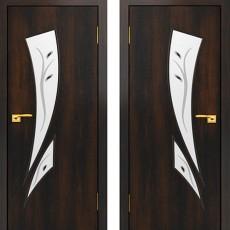 Дверное полотно С-02 Венге ПОФ-900