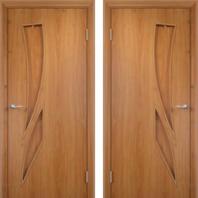 Дверное полотно С-02 миланский орех ПГ-900 (Геометрия)