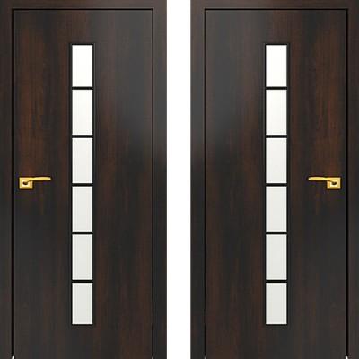 Дверное полотно С-12 Венге ПО-900