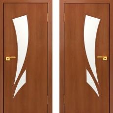 Дверное полотно С-02 Итальянский орех ПО-900