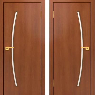 Дверное полотно остекленное С-31 Итальянский орех ПО-900