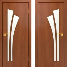 Дверное полотно С-07 Итальянский орех ПО-900