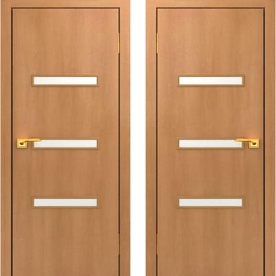 Дверное полотно остекленное С-36 Миланский орех ПО-900