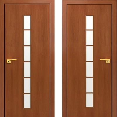Дверное полотно С-12 Итальянский орех ПО-900