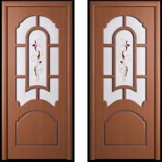 Дверное полотно шпонированное Татьяна Орех ПО-800