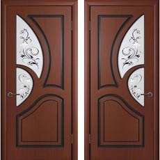 Дверь шпонированная Велес шоколад ПО-800