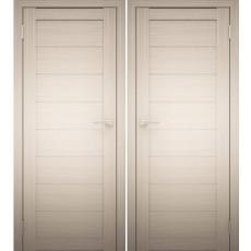 Дверное полотно АМАТИ-00 дуб беленый экошпон ПГ-800