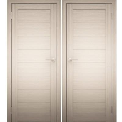 Дверное полотно АМАТИ-00 дуб беленый экошпон ПГ-700