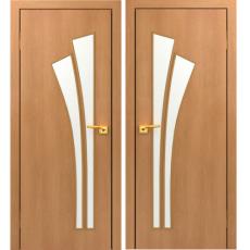 Дверное полотно С-07 миланский орех ПГ-900 (Салют)