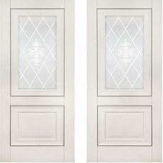Дверь экошпон Катрин 62 (Классика) Айвори ПО-900