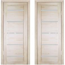 Дверное полотно Решетка ДО-900 массив сосна без сучков Премиум