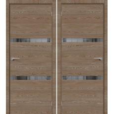 Дверь экошпон ДП ЭКО Порта-55 4AF ПО-700 East Skyline Mirox Grey