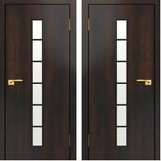 Дверное полотно остекленное С-12 Венге ПО-700