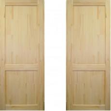 Дверное полотно Классика ДГ-900 массив сосна без сучков Премиум