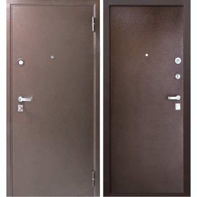 Дверь металлическая ТОЛСТЯК Металл/Металл 960х2050 правая