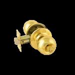 Ручка межкомнатная (золото/фиксатор) 3Ш-03 (3Ш-03-Э золото/фиксатор)