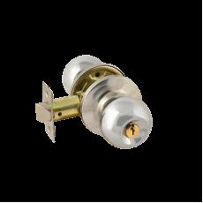 Ручка межкомнатная (хром/ключ/фиксатор) 3Ш-01 (хром/ключ/фиксатор) 3Ш-01-Э