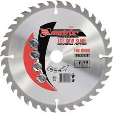 Пильный диск по дереву, 200х32мм, 36 зубьев,+кольцо,30/32//MATRIX 73262