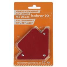 Уголок магнитный для сварки Bohrer R3 45/67/90/112/135 (до 11кг удержание)