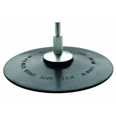 Насадка резиновая с липучкой для дрели 125мм/6мм 2010001