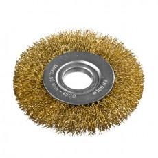 Корщетка-колесо USP 39066  желтая 150 мм